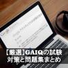 GAIQの試験対策と問題集まとめ